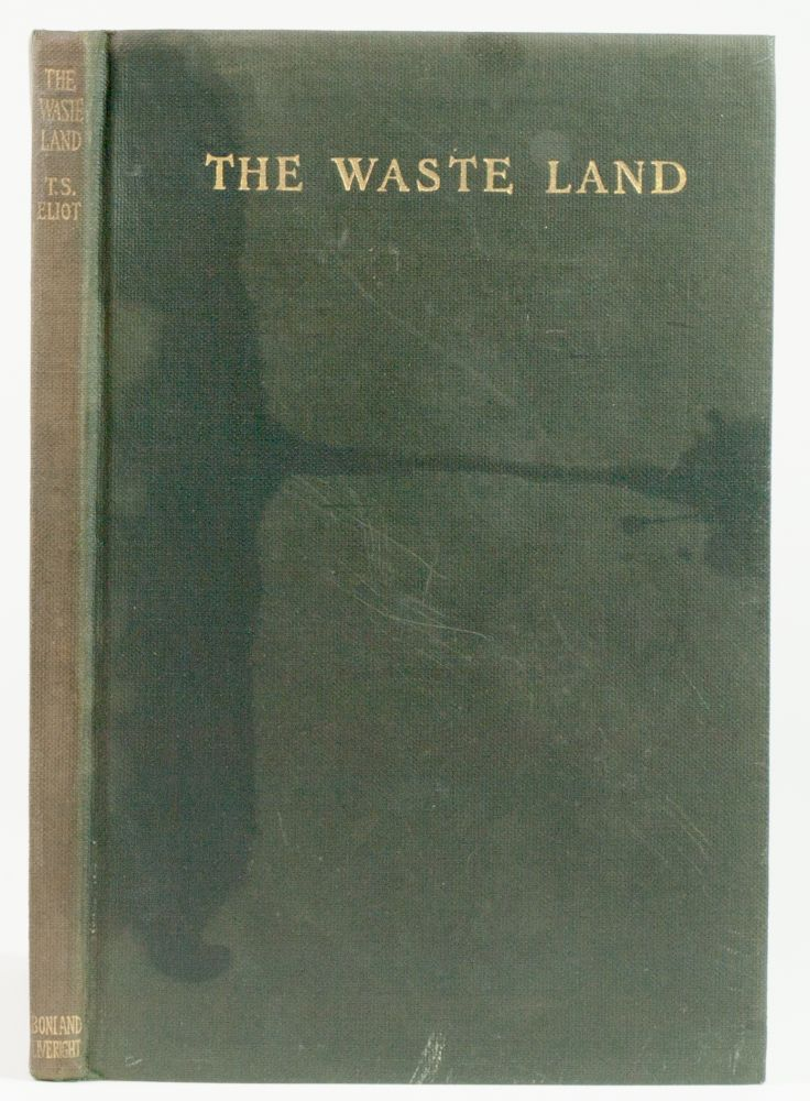 The Waste Land. T. S. Eliot.