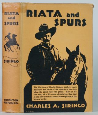 Riata and Spurs.; The story of a life spent in the saddle as cowboy and detective. Introduction...