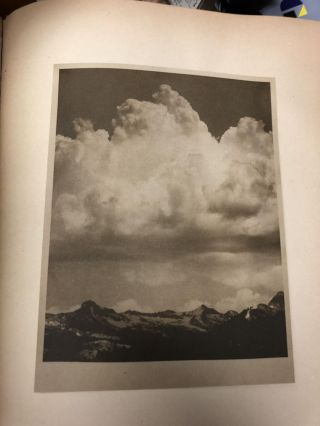 The Cloud. By Percy Bysshe Shelley. With photographs by Alvin Langdon Coburn