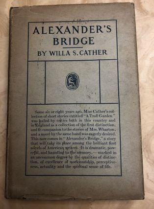 Alexander's Bridge. Willa S. Cather