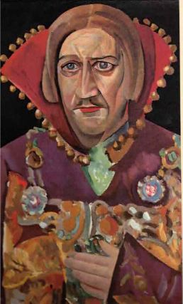 Boris Grigoriev. Faces of Russia. The Moscow Art Theatre. Boris [Grigoriev Grigor'ev, Louis...